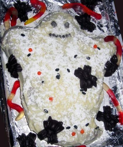 Торт не очень получился - 3