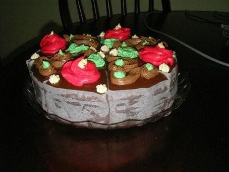 """Готовила мужу на день рождение (это был один из 3-х тортов) мой любимый торт детства """"Прага"""" получи..."""