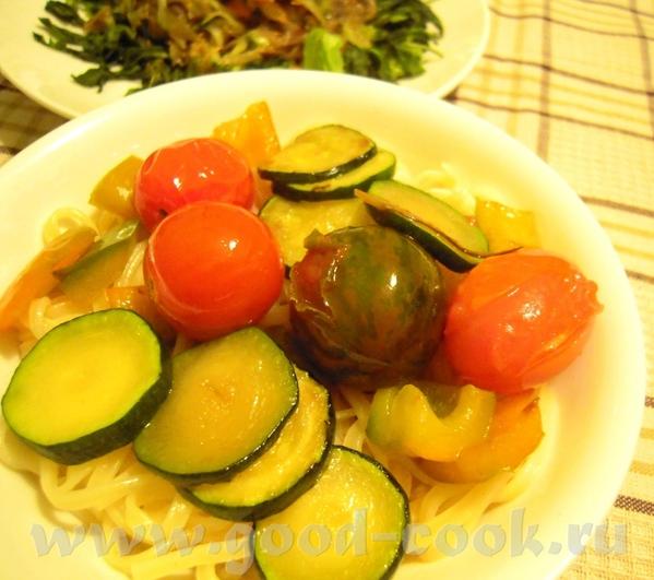 Картофельная фокачча Рожденственский салат Макароны с овощами - 3