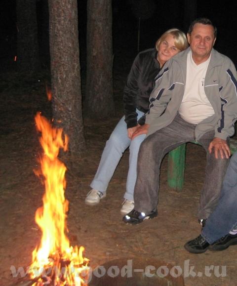 Пожалуйста, есть и огонь В кременском лесу