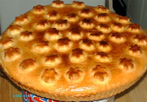 Девочки, угощайтесь - Пирог с капустой