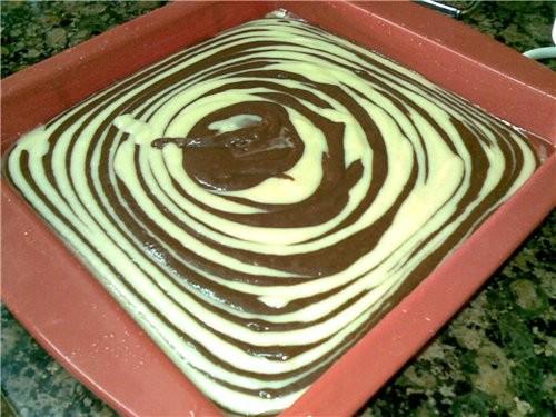 """Решила спечь торт """"Зебра"""" по рецепту своих подростковых записей,но так увлеклась украшением,что и н..."""