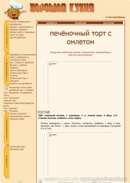 А вот так выглядела страница сайта в далёком 2001 году Ушки располагались не сверху, а слева