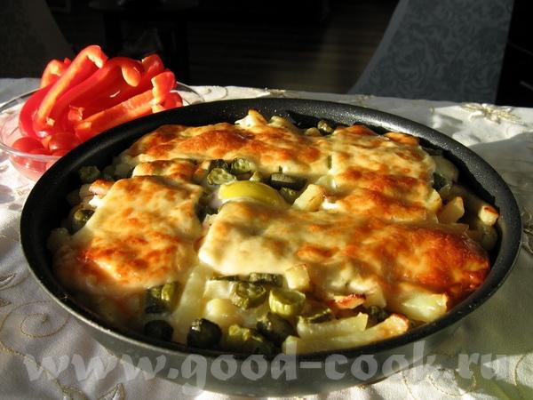 """""""испанская яишенка"""" - вариация на тему испанских омлетов остатки вчерашней жареной картошечки с лук..."""