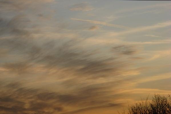 вечернее небо закат - 2