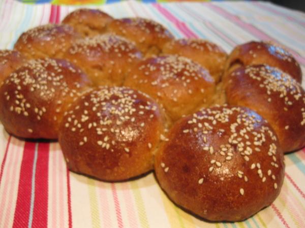 Солодовые булочки