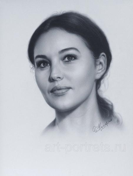 Вот тут есть небольшие ролики от художника Игоря Казарина, о том, как нарисовать портрет в технике... - 3