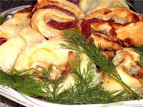 Готовилось много всякого, но сфоткала Лесной салатик в Люсином исполнении, очень вкусненько улитки... - 2