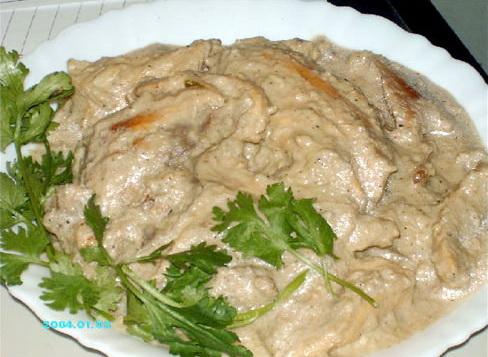Курица Шахджахани
