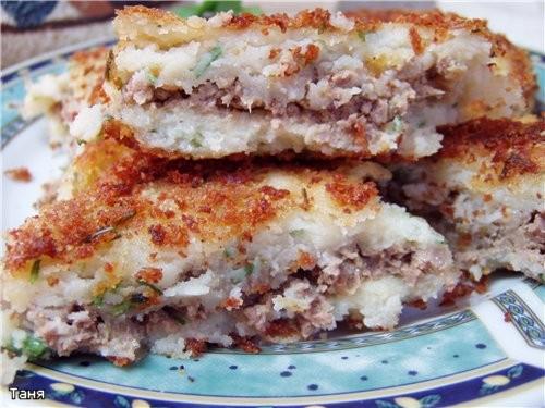 Куриная грудка в микс-маринаде с луком и помидорами Куриные шницелони Картофельные зразы с ливером... - 3