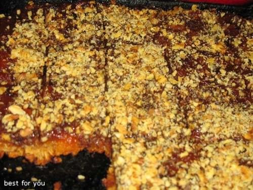 А у меня на обед вчера были: Тыквенно-куринные тефтельки и Геркулесовый пирог с яблоками и сухофрук... - 2