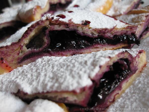 Легкий летний пирог с Фруктами