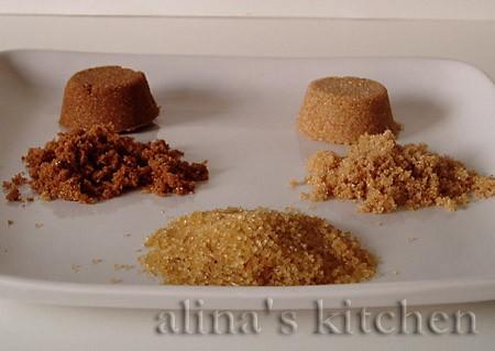 Коричневый сахар Итак, на фото – два вида сахара (белый сахар фотографировать не стала, так как все...