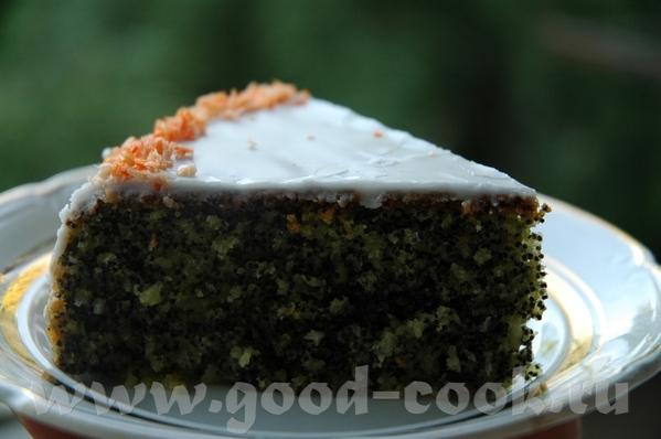 Простой маковый торт от Сони- ОТСЮДА Я немножко по-своему сделала