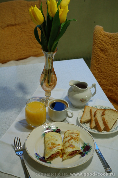 Девы, несу вам вкусный завтрак