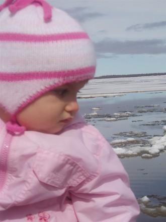 А вот следующие фотки я сделала когла мы ездили в Горнокнязевск (поселок) смотреть как лед идет
