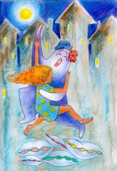 16 май День танцев с привидениями Оно приходит бледное, унылое и грустное