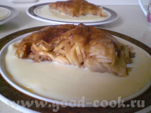 Apfelstrudel тесто: 250 г муки (тип 405) 2-3 ст
