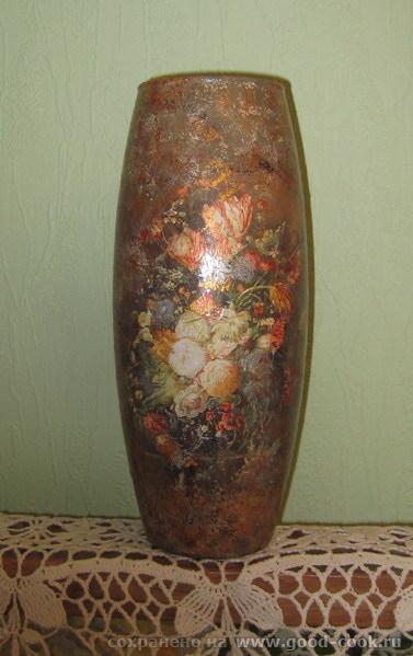 С вазой этой замучилась складки затирать