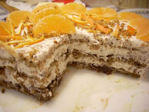 Крендель с начинкой Paris- Brest Итальянский орехово-шоколадный торт Ёлочка из профитролей с малино... - 2