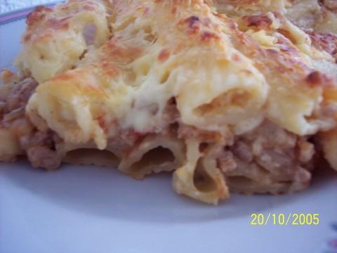 """я сегодня готовила греческую лазанию """"Макароны Бешамель"""" от Верочки крымчанки, у меня не так красив..."""