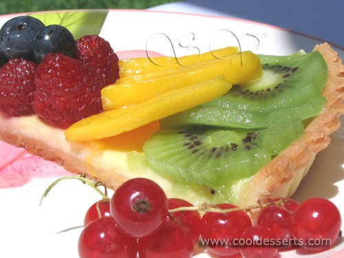 Предлагаю вам лёгкий, как в приготовлении, так и в поедании, фруктовый пирог - 2