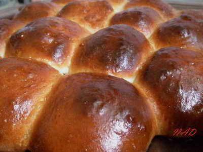 БУЛОЧКИ ЗА 9 КОПЕЕК от Тесто замешивала в хлебопечке, сформированные булочки подходили в теплом пом...