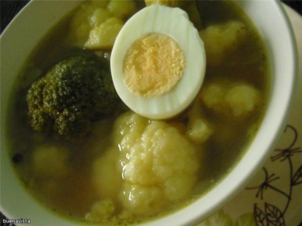 Суп из брокколи и цветной капусты Что нужно: лук репчатый - 1 луковица морковь - 1 шт растительное...