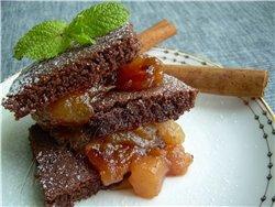 """Оладушки для завтрака """"Яблочные дольки"""" Латиноамериканские оладьи из кукурузной крупы Pancakes - Bl... - 8"""