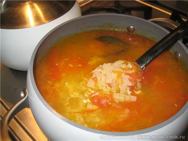 А у меня суп -лапша по-казацки