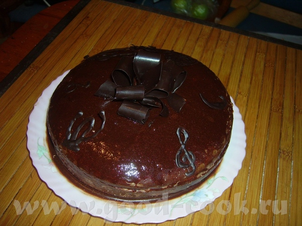 """Торт """"Прага"""" от И разрез Яйца-2шт Сахар-1 стакан Какао порошок - 3ст"""