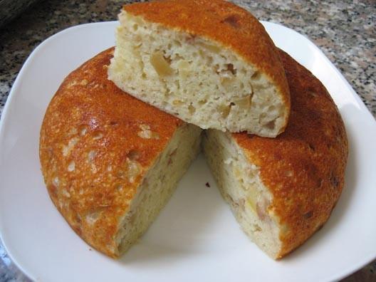 Пирожок из моей рисоварки