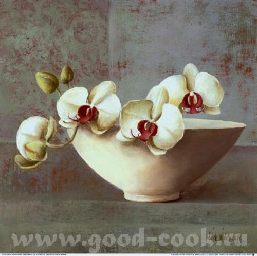 Надюнчик У меня есть такие картины с орхидеями может быть они вам понравится Martin Johnson - 5