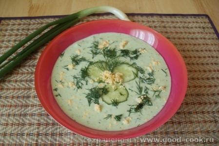 творожный холодный суп