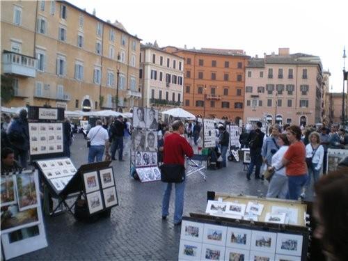 А это одна из многих Римских площадей