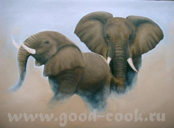 Итак, финал моего слоноизображения