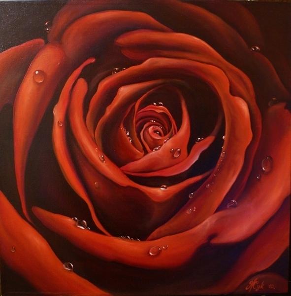 """Урок """"Роза"""" от Элеоноры Урок Элеоноры"""