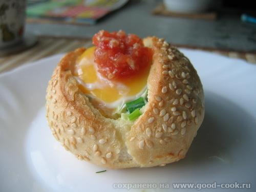 яйцо-в-булке