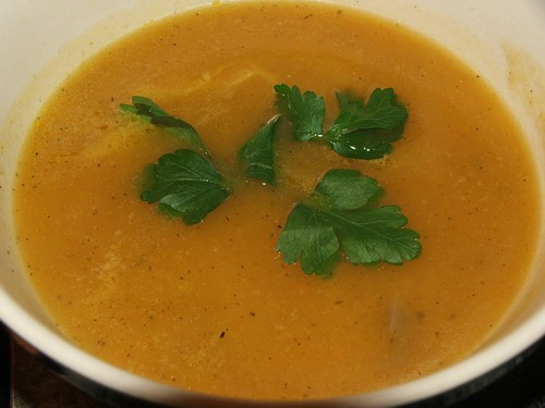 Вчера готовила тыквенный суп вот такой Рецепт очень простой и наверняка уже кто то давал его (а мож...