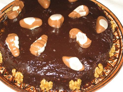 """А теперь сладкое: Мазурка с сушенной вишней Шоколадные шарики Торт """"На морском дне"""" - 4"""
