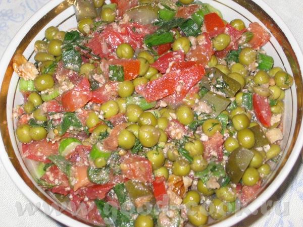Наш сегодняшний пятничный ужин: Помидорки от енотика Еще сегодня пришел в голову вот такой салат, р... - 3
