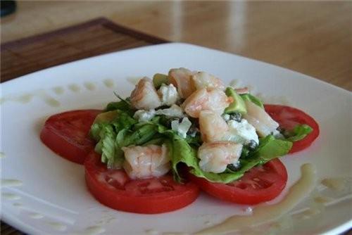 MAUI WOWIE Салат с креветками на 4-ре порции (стакан 200 гр