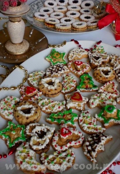 Вот и наступило время выпечки Рождественского печенья - 4