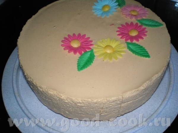 """Медовый торт """"Сладкий вечер"""" от Иры Кутовой"""