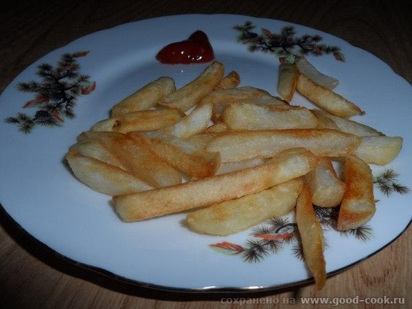 фри картошка