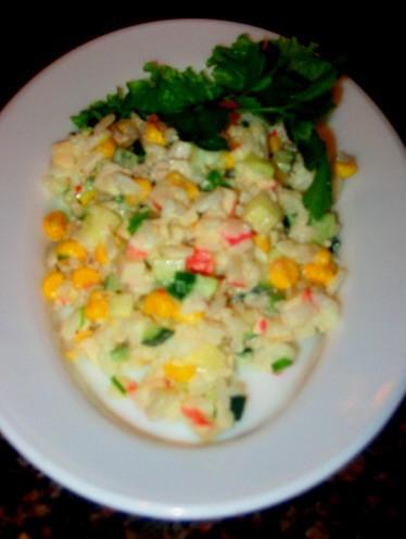 Девочки у нас сегодня на ужин: Суп-потаж грибной салатик Помидорный салатик - 3