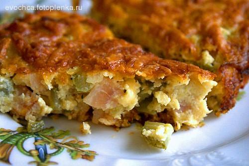 Кукурузный пирог по мотивам рецепта Творожная ватрушка по рецепту с розового форума: