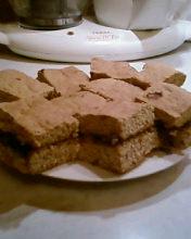 Угощайтесь с чайку, кофейку медовая коврижка Рецепт в хлебной