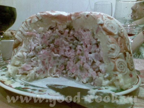 САЛАТ ШАРЛОТКА от Мадамы А этот красивенный салатик Галюня- изготовила - 2