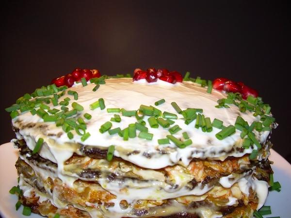 Торт из Печени к Празднику